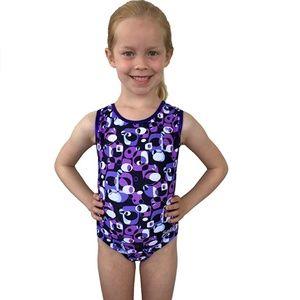 Smart Stretch Girl Gymnastics Leotard - Allegro